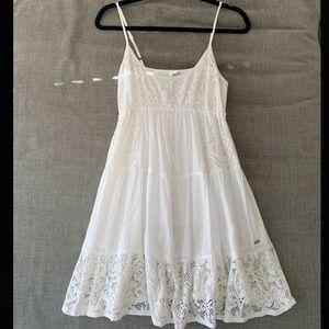 Ripcurl white mini dress